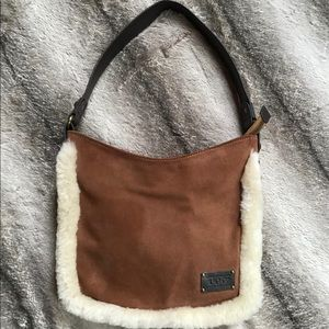 OzWear Connection UGG Classic Suede/Shearling Bag